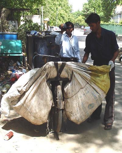 Dinesh filming Matlib