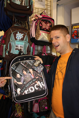 Or if, you know, they happen to find Jonas Brothers backpacks as awesome as you do.