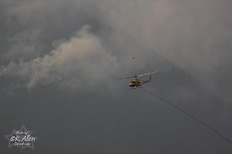 Della Creek Fire Aug 3 2009