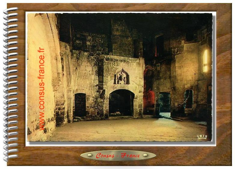 26 - Château de COGNAC  Salle au casque