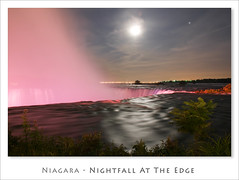 Niagara - Nightfall At The Edge (Light Forger) Tags: blue light ontario canada nature water pool beautiful beauty river waterfall nikon rocks solitude peace bruce peaceful hike niagara falls erosion trail waterfalls cascades scape cascade hdr escarpment d300 forger photmatix mywinners abigfave platinumheartaward