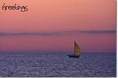 Farewell (BoyPhoto) Tags: sunset beach water clouds canon dusk michigan saugatuck sailingboat ovalbeach canoneos40d canon40d