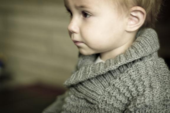 Design F Warp Neck Sweater