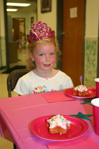 Grace's 4th Birthday at the Gym