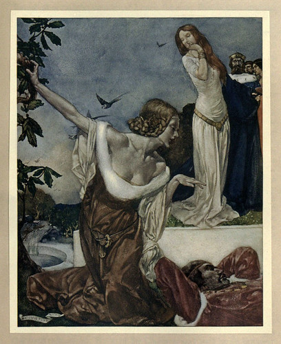 008 -Le morte Darthur 1921- William Russell Flint