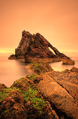 Bow Fiddle Rock again! (Pleasureprinciple2012) Tags: sea beach scotland seascapes bow fiddle hdr rockformation morayshire portknockie bowfiddlerock britishseascapes ificouldspeak bowfidde peasureprinciple