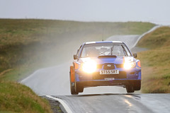 Peter Lloyd / Graham Handley - Subaru Impreza WRC S12 (Rally_Captures) Tags: world blue car canon jump military rally peter ranges wrc subaru lloyd impreza graham 2009 motorsport rallying handley s12 epynt subaruimprezawrc 40d mewla