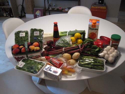 Groceries from Maisonneuve market: $47.27