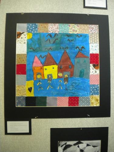 Maia's Art Quilt