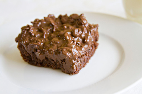 Nutella Crunch Brownies - 7
