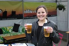 Cathinka Tønsberg deltok på Aktiv I Oslo.no sin øl-quiz