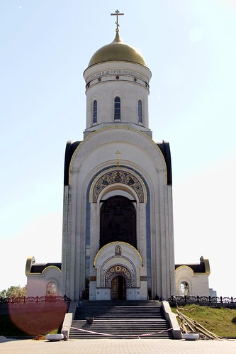 Москва: Храм Георгия Победоносца на Поклонной горе