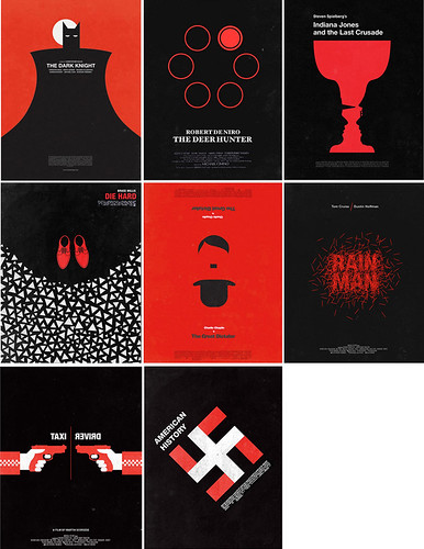 Eight Films in Black and Red