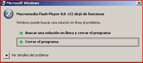 macromedia flash player 8.0 r22