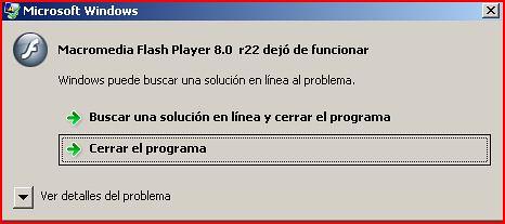 macromedia flash player 8.0 r22