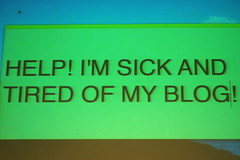 Sick of my blog 1 (Derek K. Miller) Tags: blog stickies northernvoice susannahgardner sickandtired supersusie susiegardner hopstudios nv09 northernvoice09
