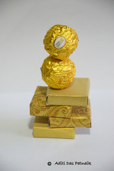 A balanced diet? (Aditi Patnaik) Tags: chocolates balance diet ferrero rocher stacked