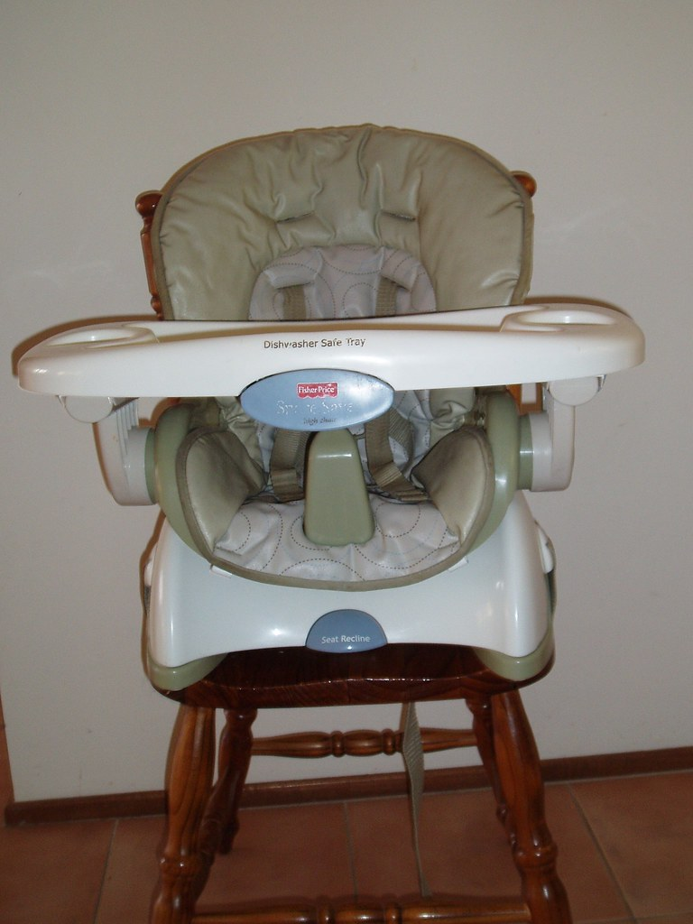 SOLD - Fisher Price Space Saver Highchair - $70