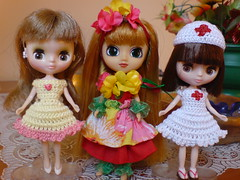 Angie, Michela y Lucy