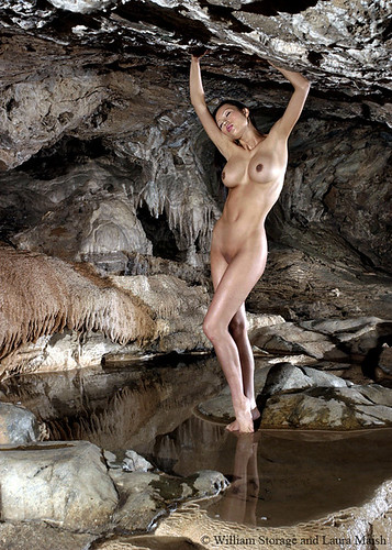 Cave Nude by  bstorage.