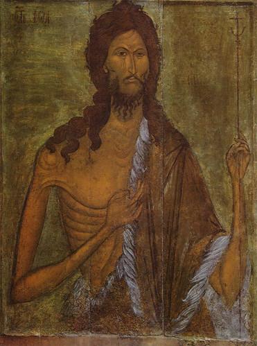 014- Juan el Bautista siglo XVI- Museo de Riazan
