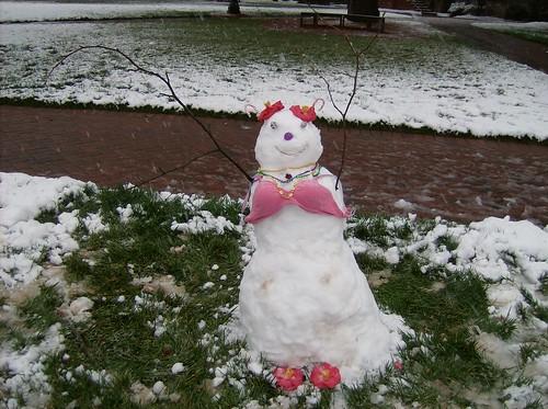 Summer snowwoman