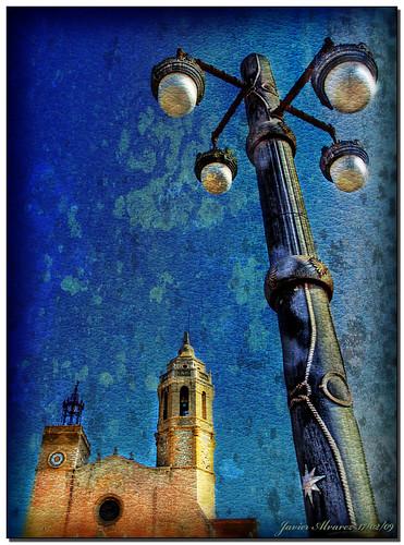 Sitges (11) Iglesia Molecular