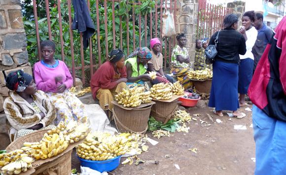 Vendeuses de banane à Bukavu