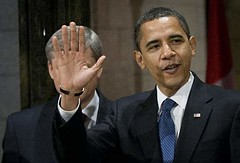 obama harper hand