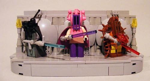 Jedi Warrior custom  minifgs