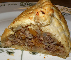 Cornish Pasty 2 (Hammer51012) Tags: uk greatbritain ireland england food cornwall steak onion pastie cornishpasty patato rutabaga sp570uz tiddlyoggy tiddyoggy