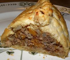Cornish Pasty 2 (Hammer51012) Tags: uk greatbritain ireland england food cornwall steak onion pastie cornishpasty patato rutabaga sp570uz tiddlyoggy tiddyoggy