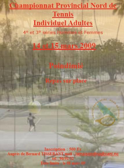 tournoi provincial de Poindimie 2009