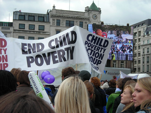 End Child Poverty Rally