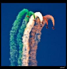 Suryakirans (explored) (saternal) Tags: airshow aero alignements suryakirans aplusphoto saternal aeroindia2009