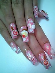 Candy Nails (Pinky Anela) Tags: pink acrylic candy nail nailart japanesenails candynails