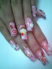 ★Candy Nails★ (Pinky Anela) Tags: pink acrylic candy nail nailart japanesenails candynails