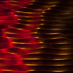 (barbera*) Tags: red brown toronto texture metal wall golden waves decorative surface finish bceplace rhythm sculpted barbera 500x500 brookfieldplace sunptuous ministractwinner 0618160