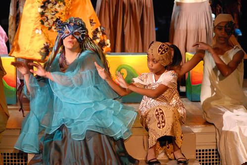 Agwe and Little Ti Moune