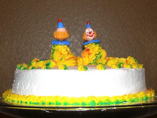 Clown Cake, Free to Good Home