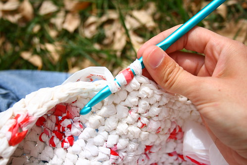 crocheting