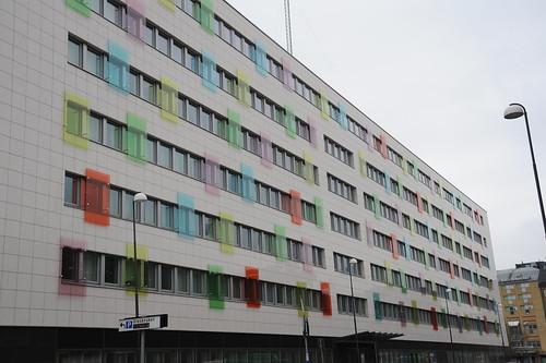 綺麗な色の窓