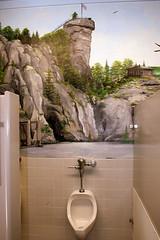Welcome to Chimney Rock (Jacob...K) Tags: chimney nature rock america tile bathroom mural south toilet southern americana appalachian appalachia unrinal