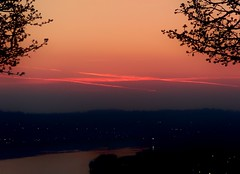 Zorro Was Here (rapt_in_roses) Tags: clouds sunrise pinksky predawn pinkclouds
