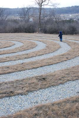 round the labyrinth