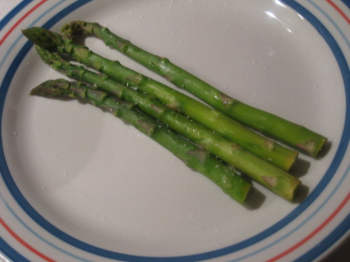 Asparagus with Lemon, Sage, and Sea Salt