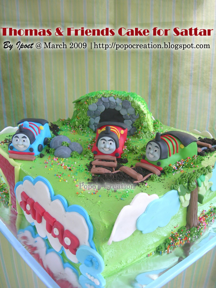 Thomas and Friends Cake for Sattar