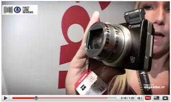 First Look Review of the Canon Powershot SX 200IS by MegaWhat.tv