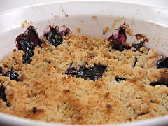 Apple and Blueberry Crisp - Fresh from the Oven