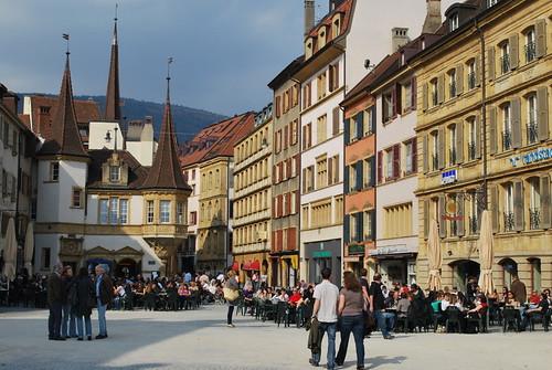 Sortie à Neuchâtel